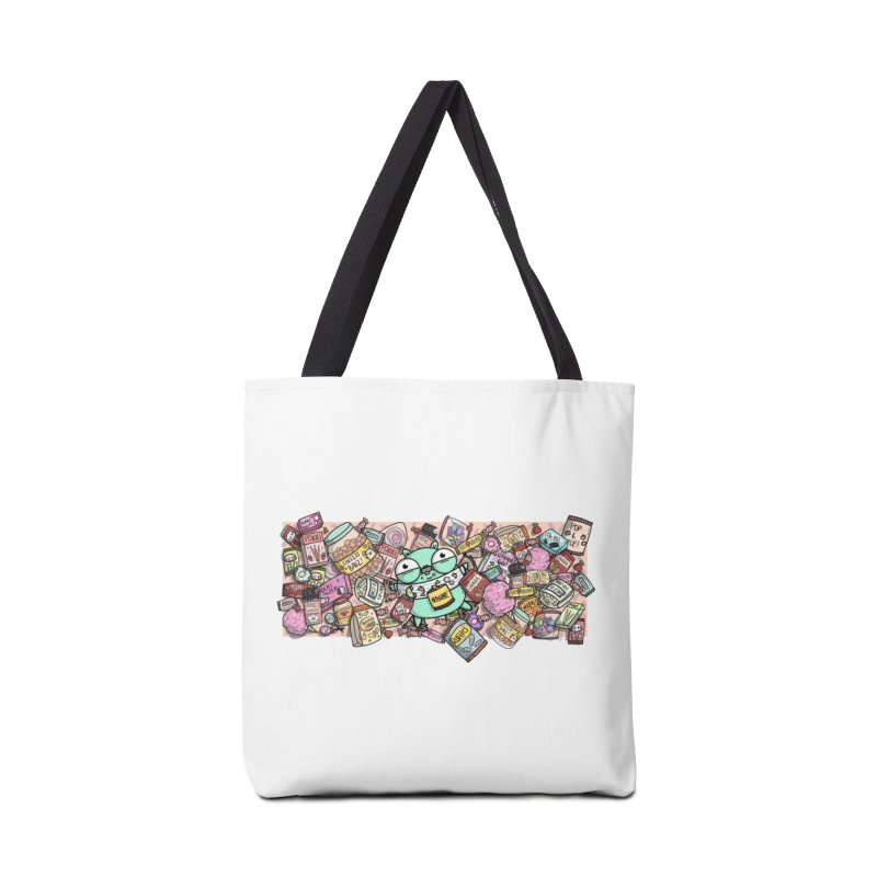 Gopher Snacks Accessories Tote Bag Bag by Women Who Go