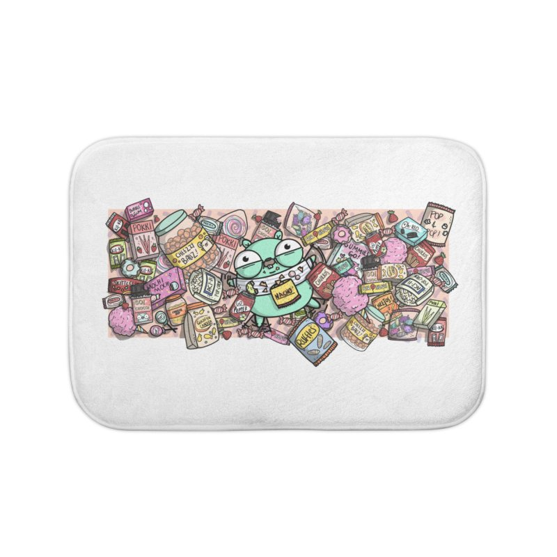 Gopher Snacks Home Bath Mat by Women Who Go