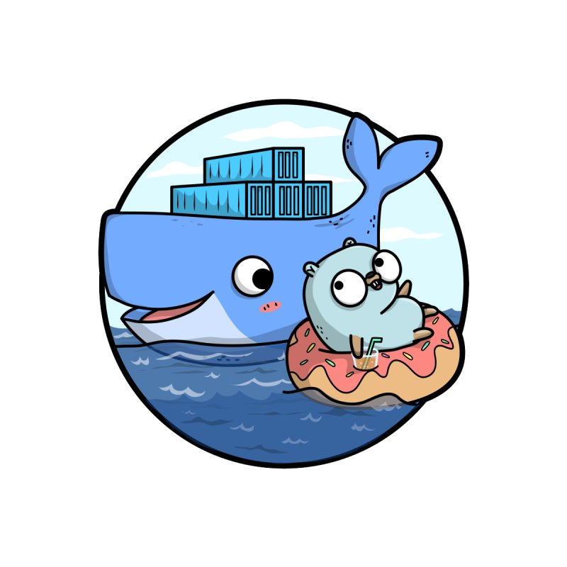 Gopher Docker by Women Who Go