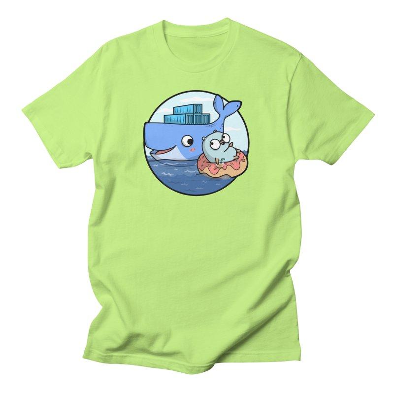 Gopher Docker Men's T-Shirt by Women Who Go