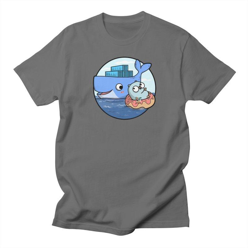 ddd87caa9b97 Gopher Docker Men s T-Shirt by Women Who Go