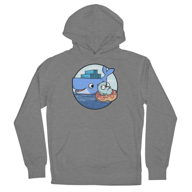 Gopher Docker Women's French Terry Pullover Hoody by Women Who Go