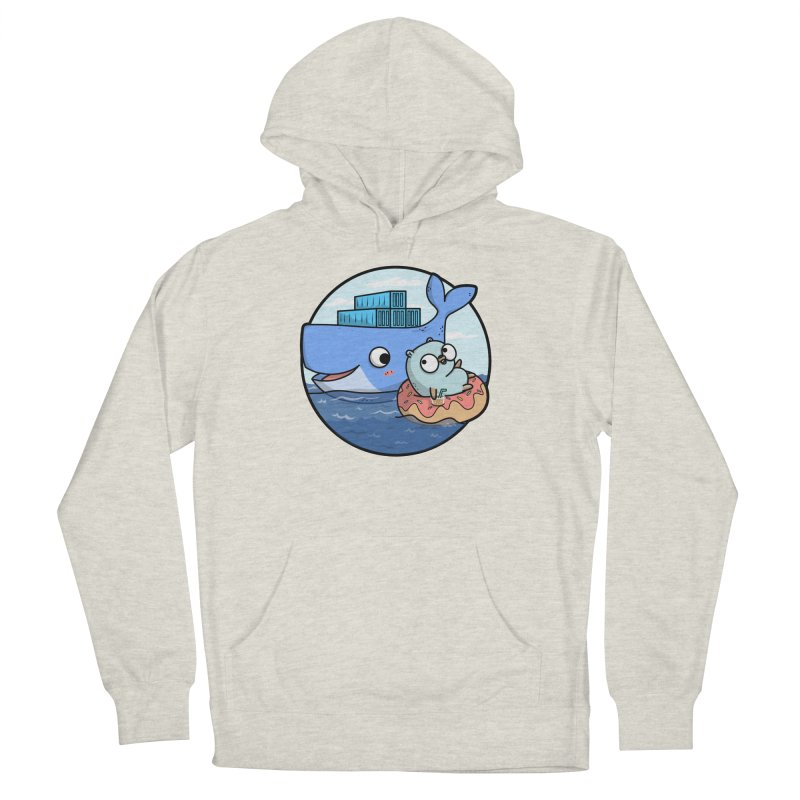 Gopher Docker Men's French Terry Pullover Hoody by Women Who Go