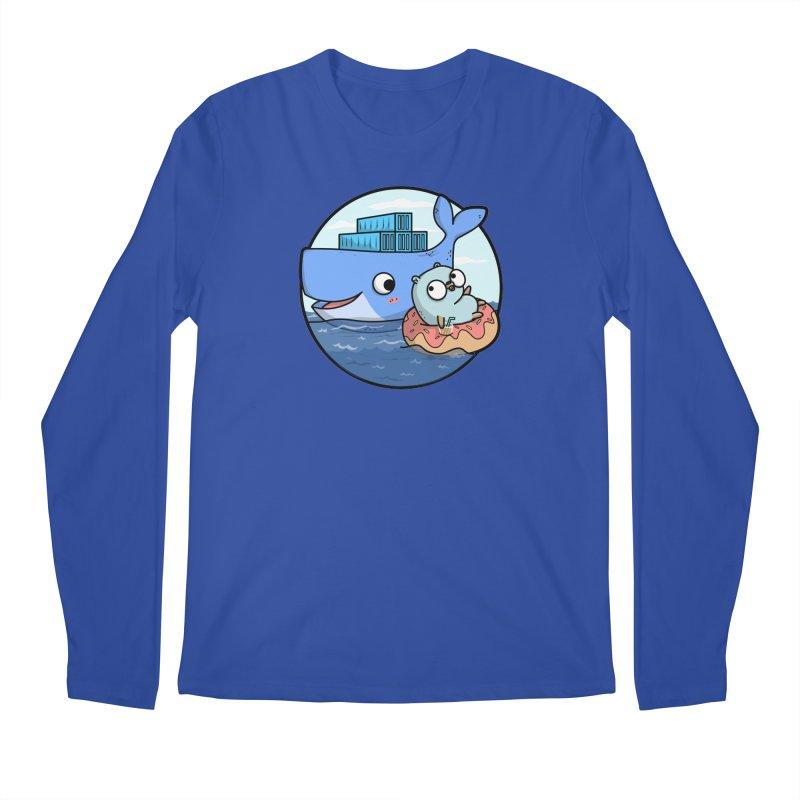 Gopher Docker Men's Regular Longsleeve T-Shirt by Women Who Go