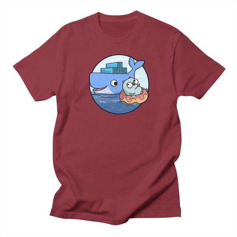 Gopher Docker Men's Regular T-Shirt by Women Who Go