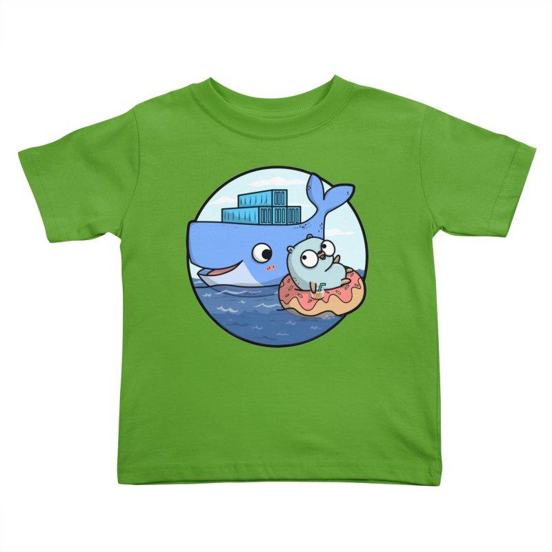 Gopher Docker Kids Toddler T-Shirt by Women Who Go