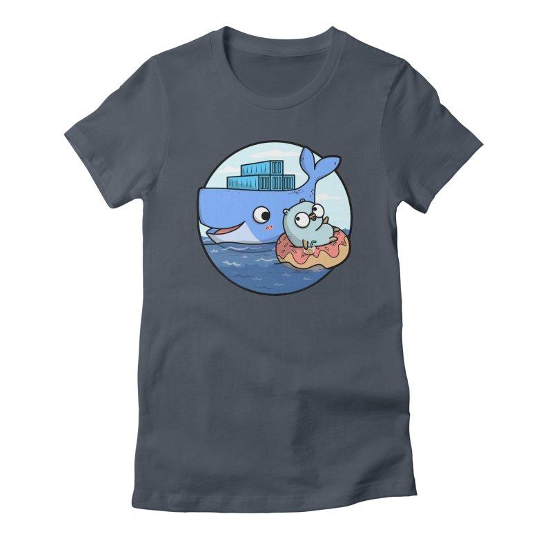 Gopher Docker Women's T-Shirt by Women Who Go