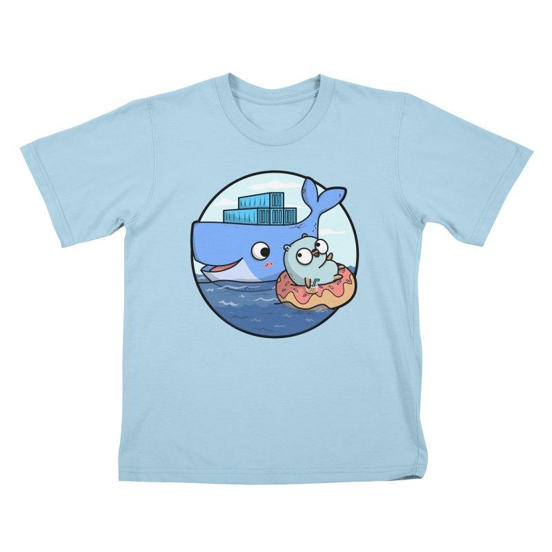 Gopher Docker Kids T-Shirt by Women Who Go