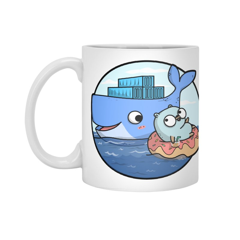 Gopher Docker Accessories Mug by Women Who Go