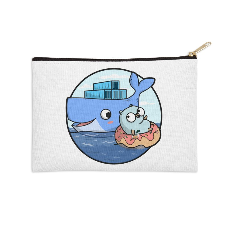 Gopher Docker Accessories Zip Pouch by Women Who Go