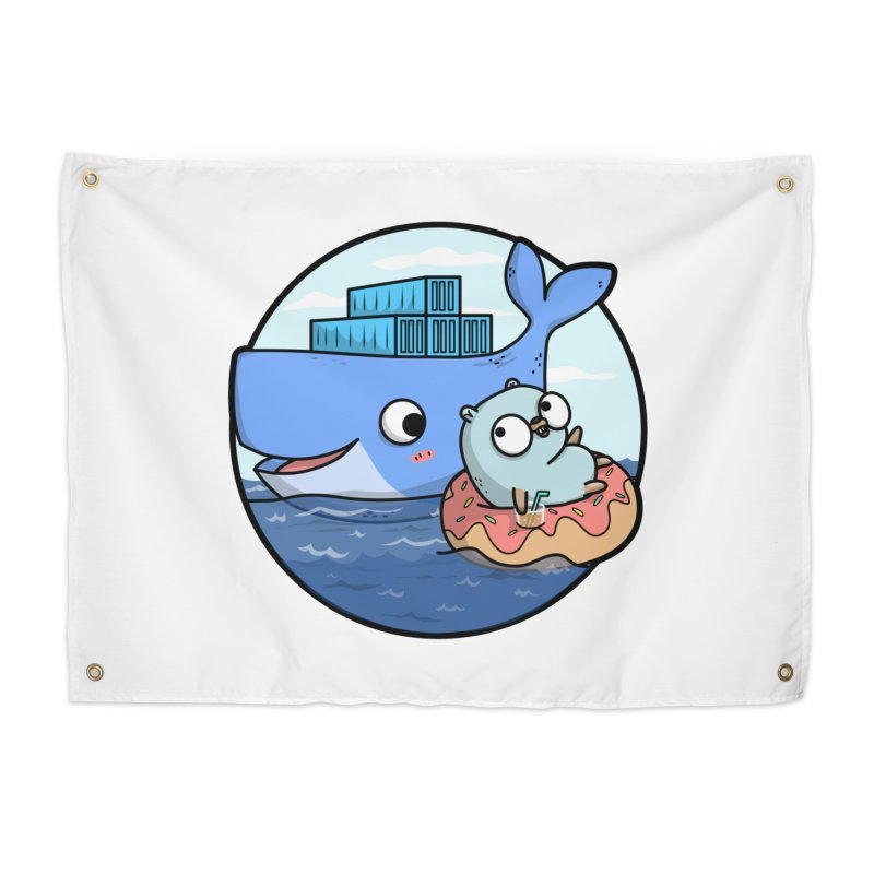 Gopher Docker Home Tapestry by Women Who Go