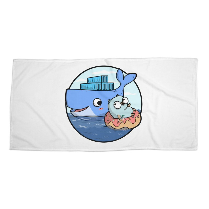 Gopher Docker Accessories Beach Towel by Women Who Go