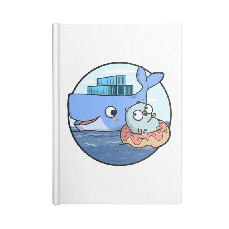 Gopher Docker Accessories Notebook by Women Who Go