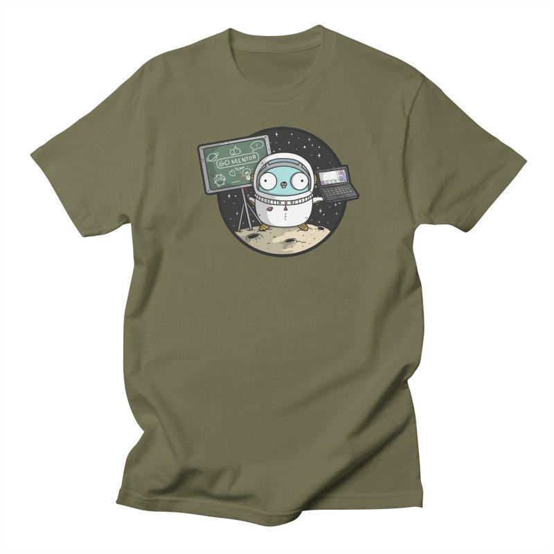 Go Mentor Men's Regular T-Shirt by Women Who Go
