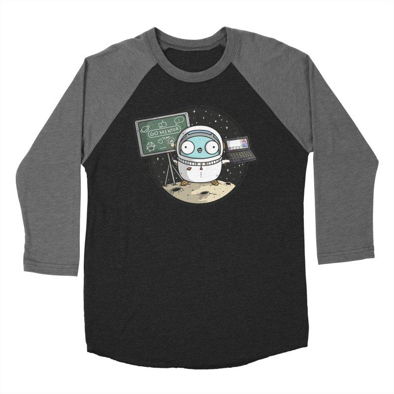 Go Mentor Women's Baseball Triblend Longsleeve T-Shirt by Women Who Go