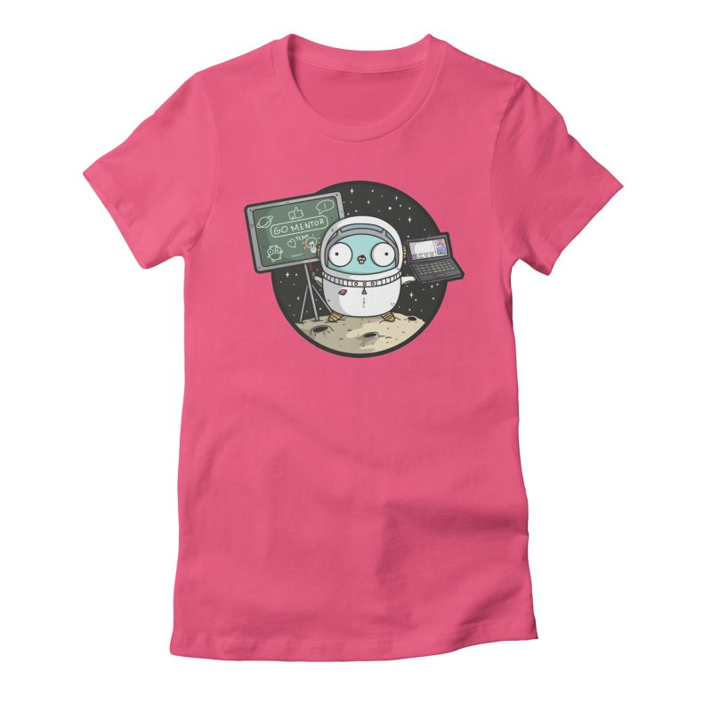 Go Mentor Women's Fitted T-Shirt by Women Who Go