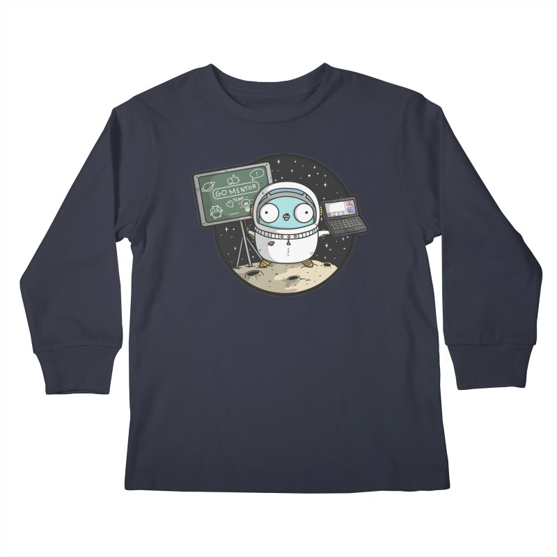 Go Mentor Kids Longsleeve T-Shirt by Women Who Go