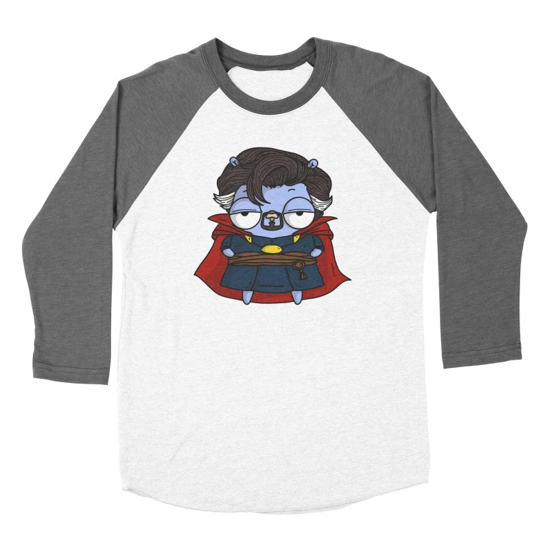 Gopher Strange Women's Baseball Triblend Longsleeve T-Shirt by Women Who Go