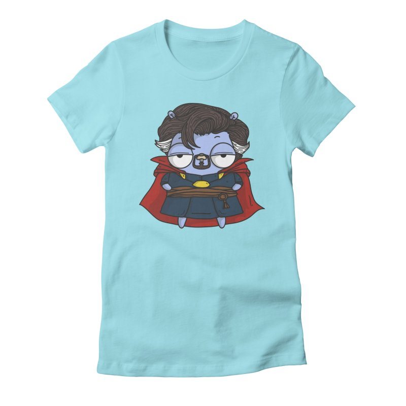 Gopher Strange Women's Fitted T-Shirt by Women Who Go