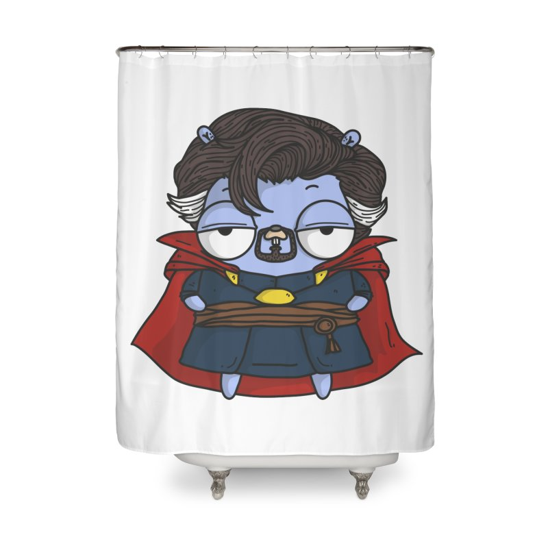 Gopher Strange Home Shower Curtain by Women Who Go