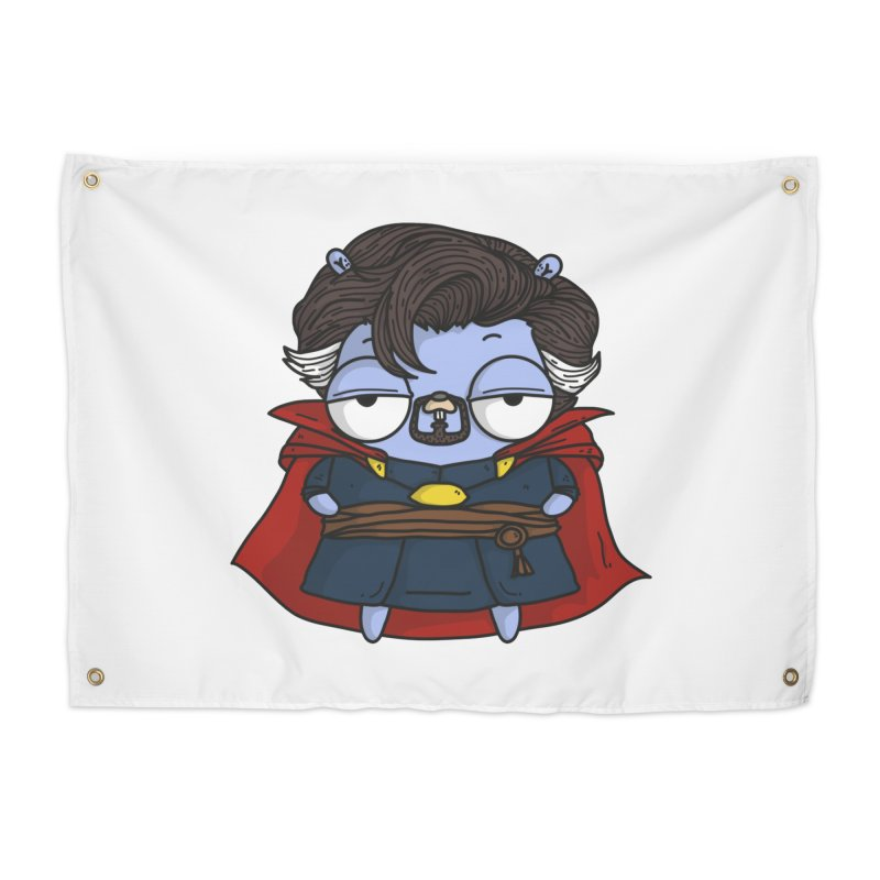 Gopher Strange Home Tapestry by Women Who Go