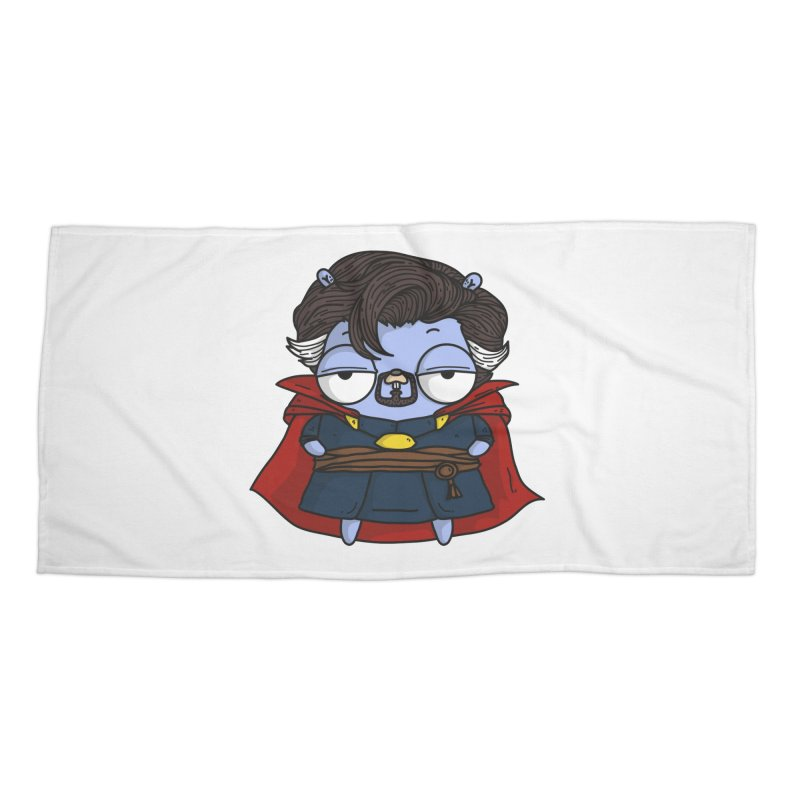 Gopher Strange Accessories Beach Towel by Women Who Go