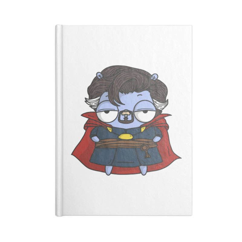Gopher Strange Accessories Notebook by Women Who Go