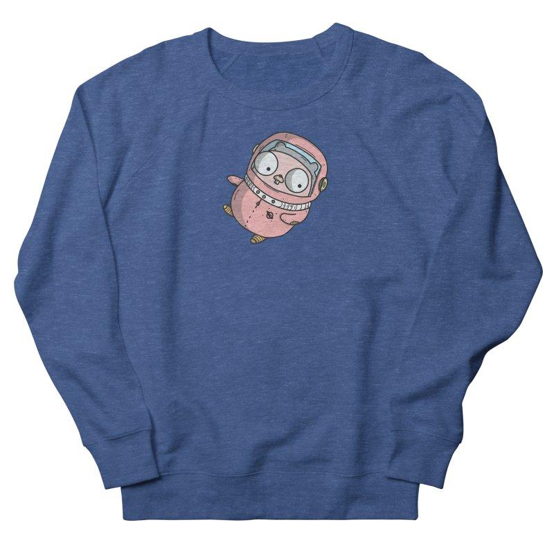 Space Gopher (Pink) Men's Sweatshirt by Women Who Go