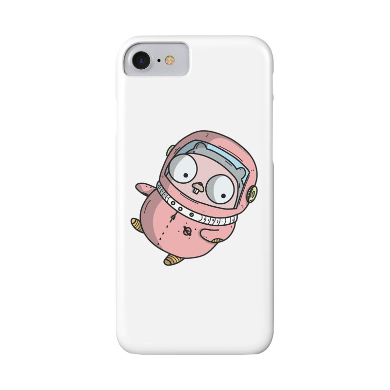 Space Gopher (Pink) Accessories Phone Case by Women Who Go