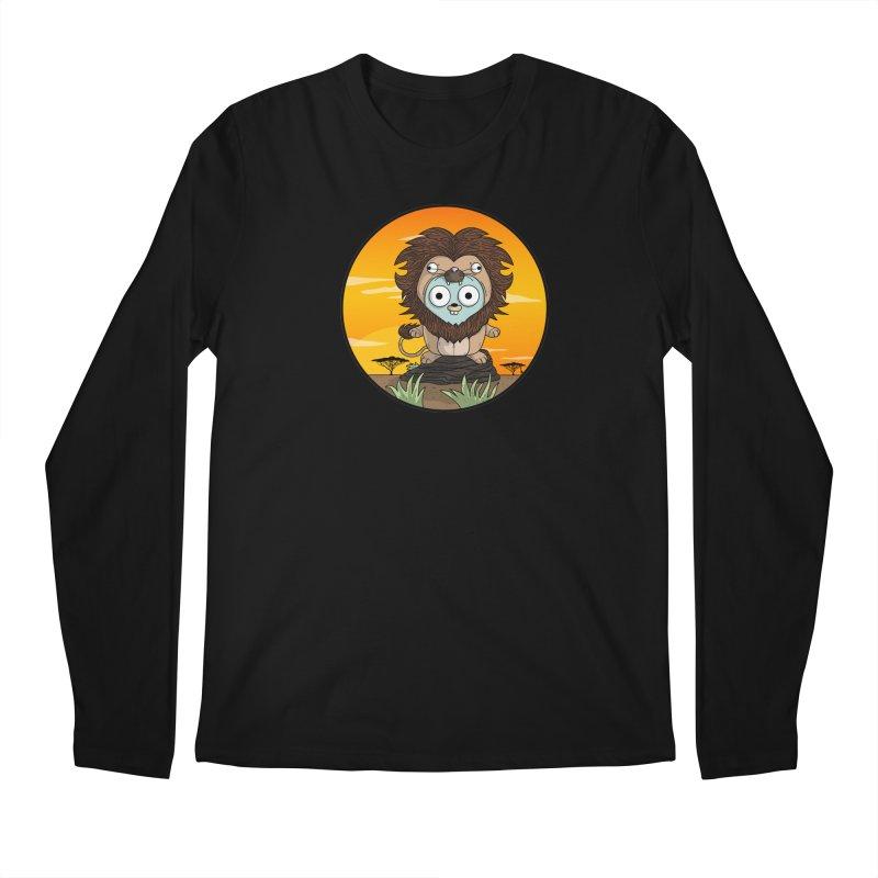 Gopher Lion Men's Regular Longsleeve T-Shirt by Women Who Go