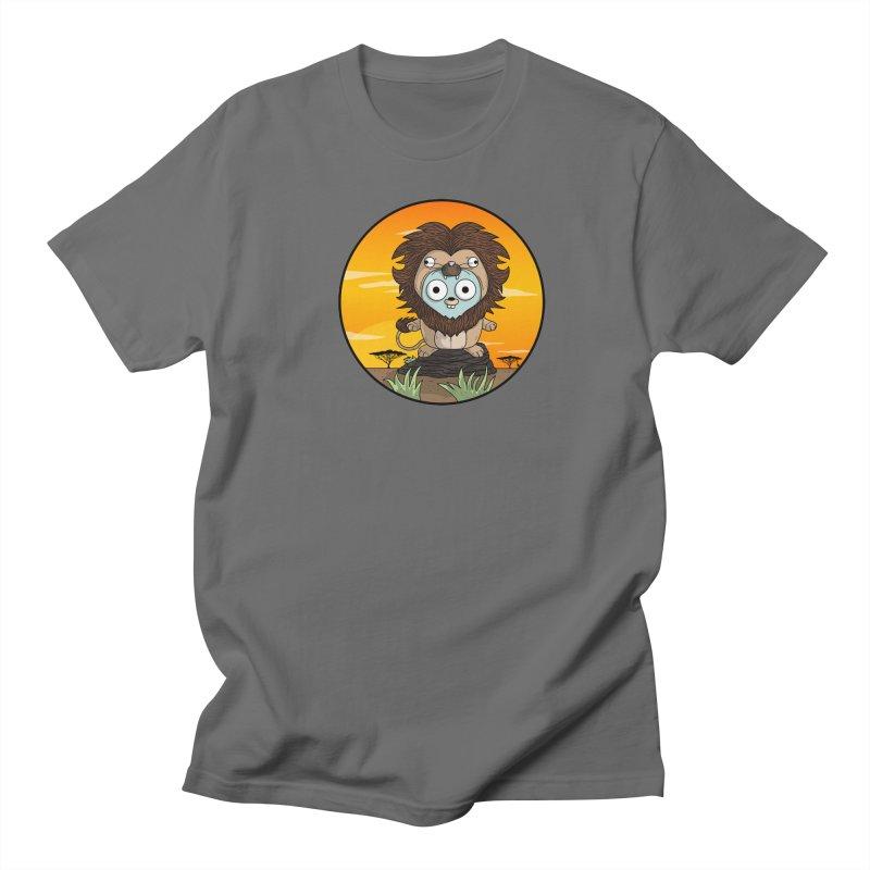 Gopher Lion Men's Regular T-Shirt by Women Who Go