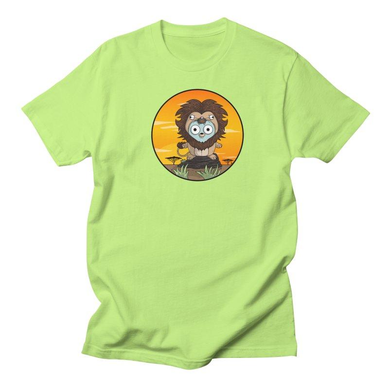 Gopher Lion Women's Regular Unisex T-Shirt by Women Who Go