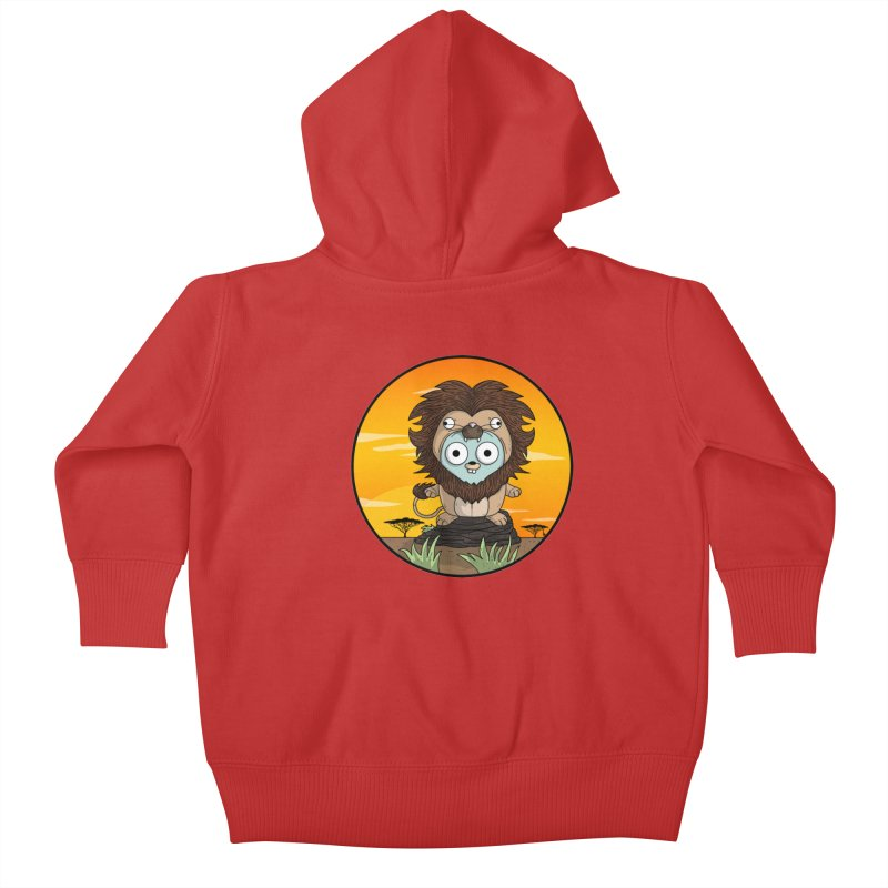 Gopher Lion Kids Baby Zip-Up Hoody by Women Who Go