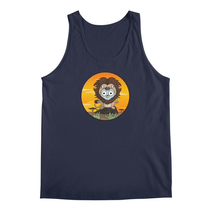 Gopher Lion Men's Regular Tank by Women Who Go