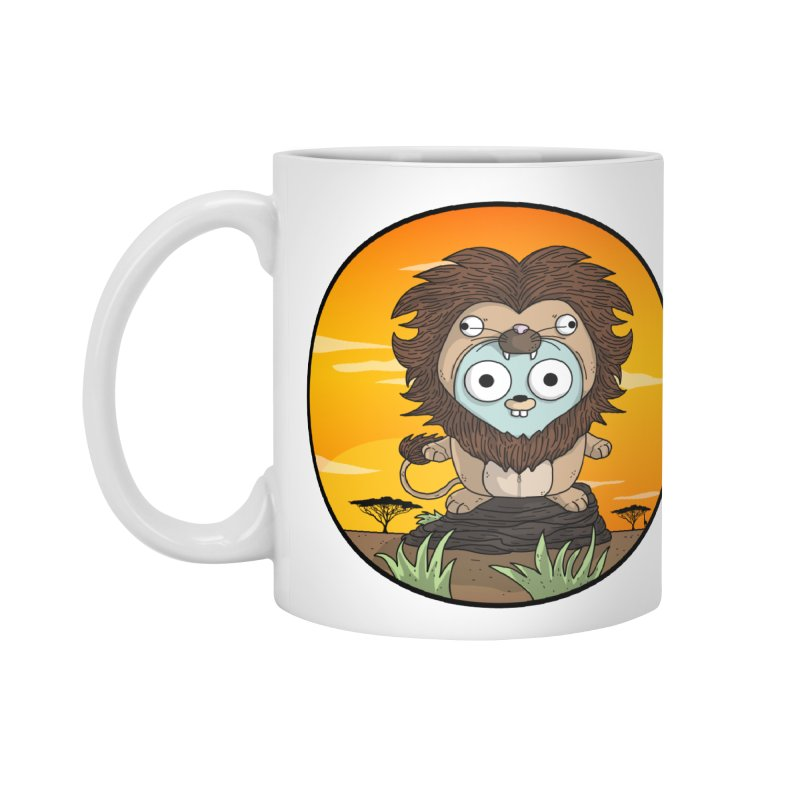 Gopher Lion Accessories Mug by Women Who Go