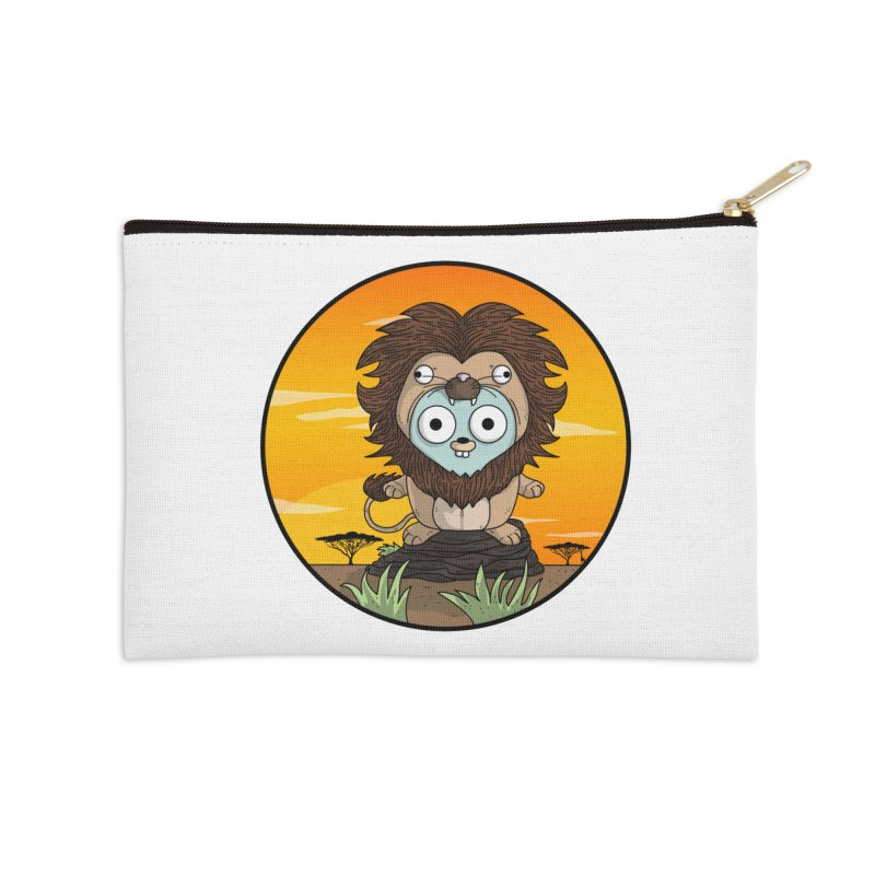 Gopher Lion Accessories Zip Pouch by Women Who Go