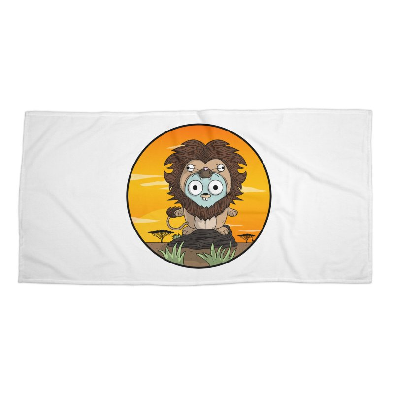 Gopher Lion Accessories Beach Towel by Women Who Go