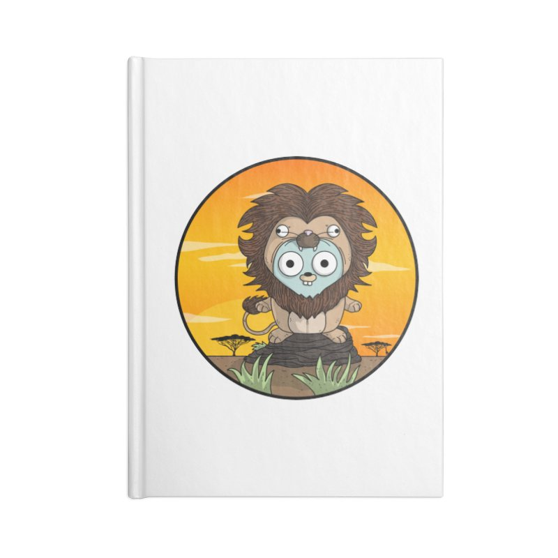 Gopher Lion Accessories Blank Journal Notebook by Women Who Go
