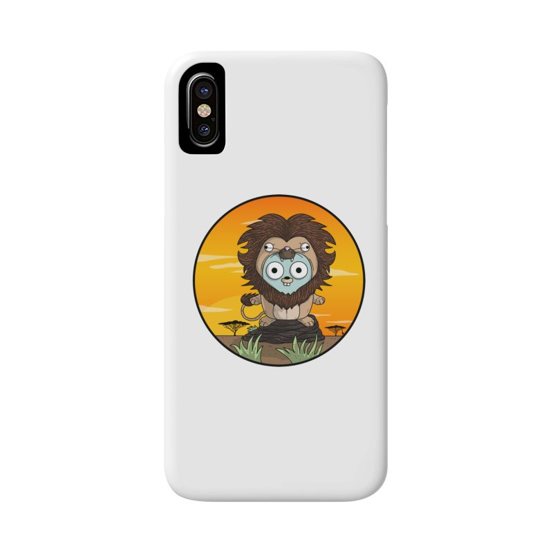 Gopher Lion Accessories Phone Case by Women Who Go