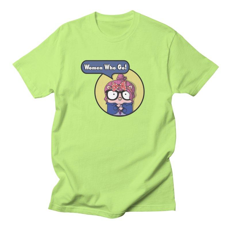 Women Who Go Men's Regular T-Shirt by Women Who Go