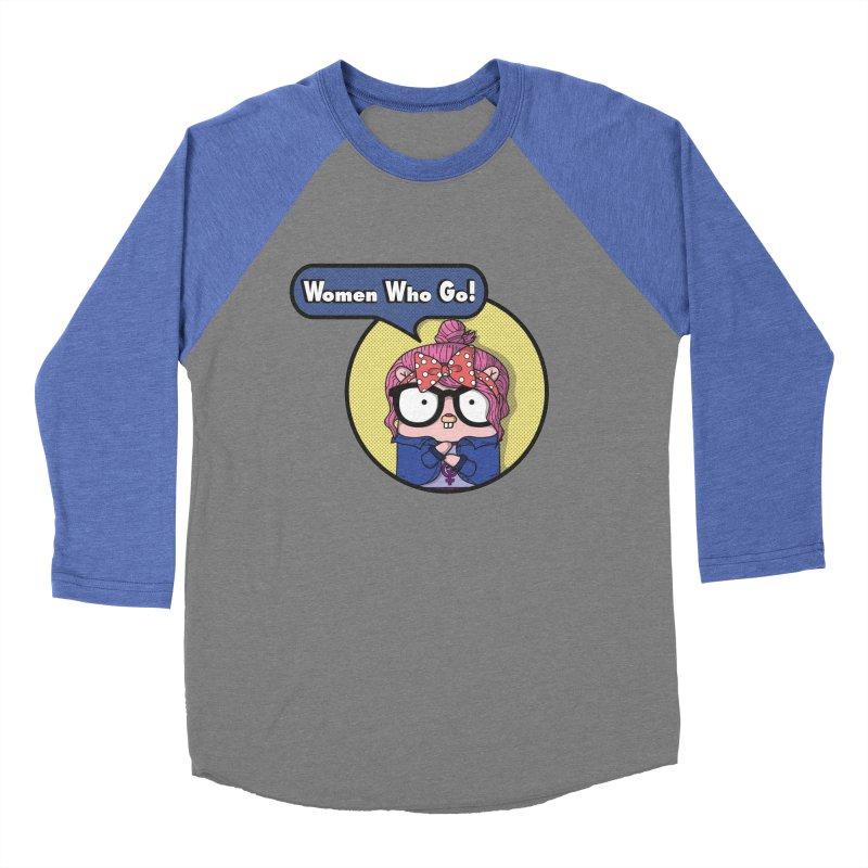 Women Who Go Women's Baseball Triblend Longsleeve T-Shirt by Women Who Go