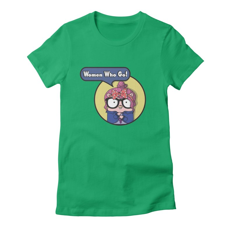Women Who Go Women's Fitted T-Shirt by Women Who Go