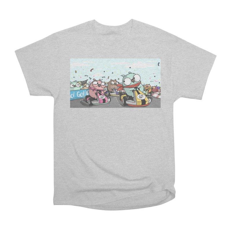 Go Race Men's Heavyweight T-Shirt by Women Who Go
