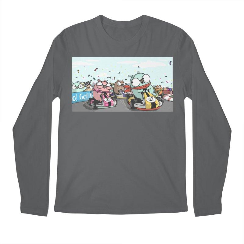 Go Race Men's Regular Longsleeve T-Shirt by Women Who Go