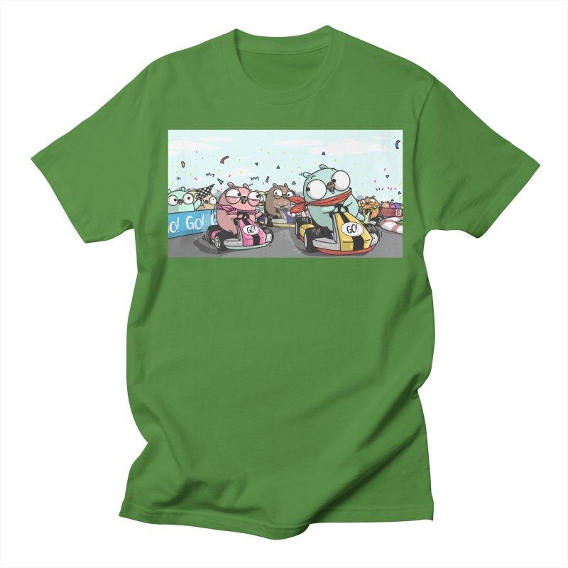 Go Race Men's T-Shirt by Women Who Go