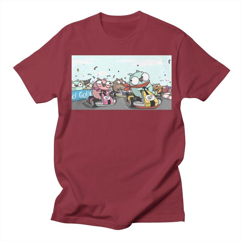 Go Race Women's Regular Unisex T-Shirt by Women Who Go