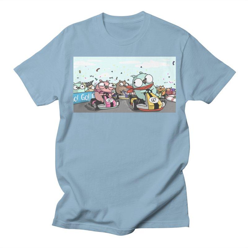 Go Race Men's Regular T-Shirt by Women Who Go