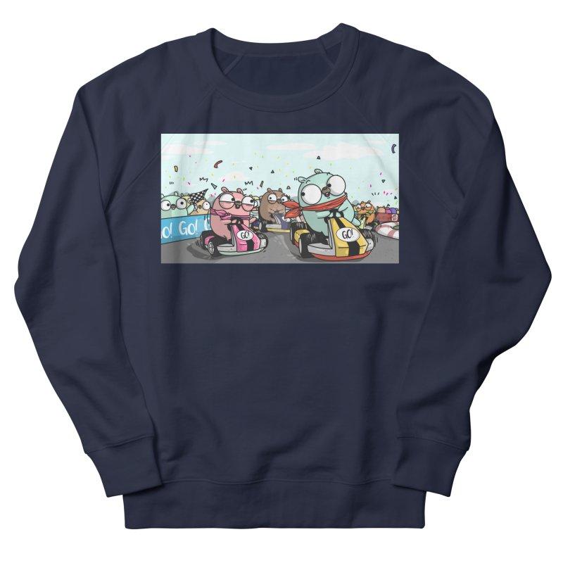 Go Race Men's Sweatshirt by Women Who Go