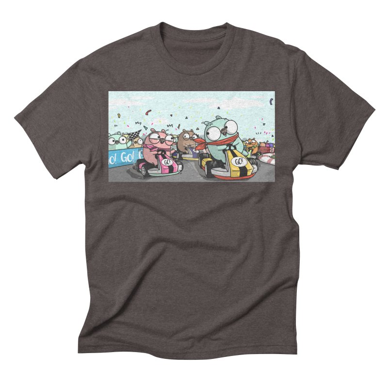 Go Race Men's Triblend T-Shirt by Women Who Go