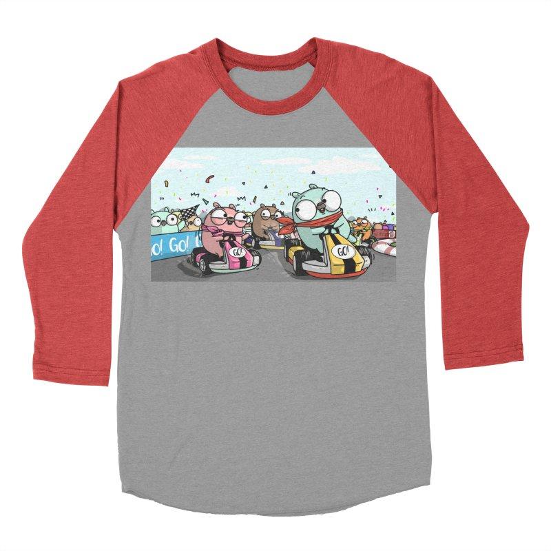 Go Race Women's Baseball Triblend T-Shirt by Women Who Go